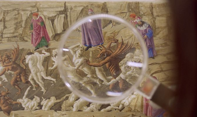 Кадры из фильма картины боттичелли смотреть