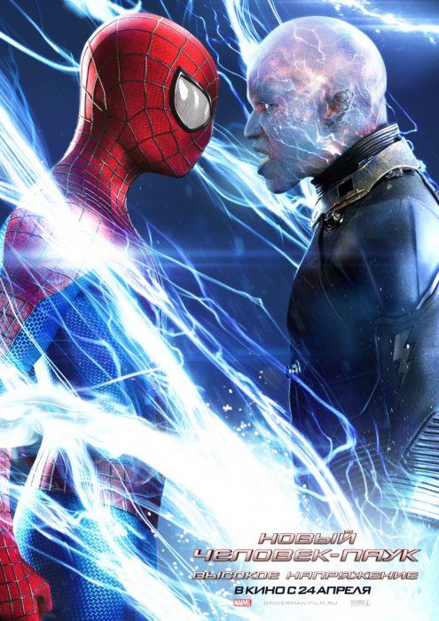 Человек паук высокое напряжение 3d